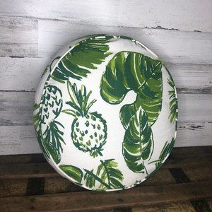 Nordstrom Rack palm leaf pineapple throw pillow